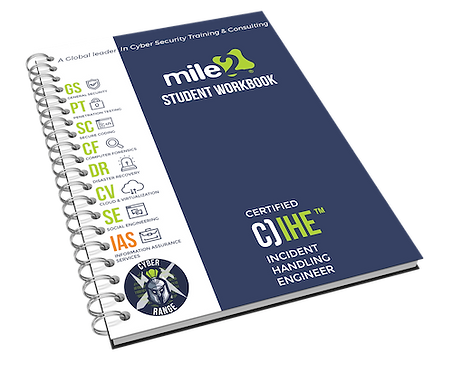 C)IHE -Certified Incident Handling Engineer Courseware Kit