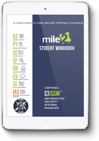 C)ISSM - Information Systems Security Manager - Online Only Self Study Book
