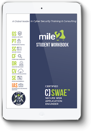C)SWAE - Certified Secure Web Application Engineer - Online Only Self Study Book