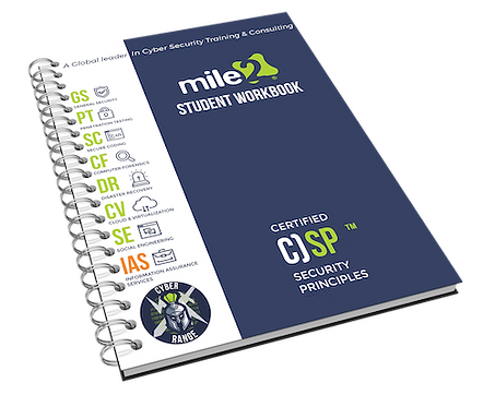 C)SP - Certified Security Principles Courseware Kit