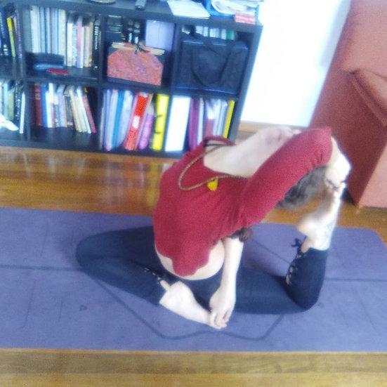 1 videoclase de Yoga integral Pregrabada