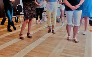 Workshop mit Körpereinsatz