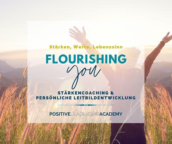 Flourishing YOU Persönliche Leitbildentwicklung
