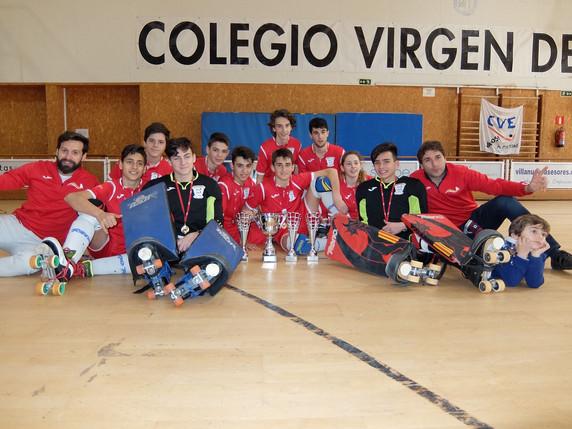 Equipo Infantil. Campeón de la Comunidad de Madrid.