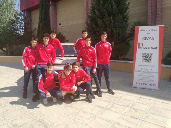 Rivas a semifinales. Campeonato España Hockey Patines Juvenil