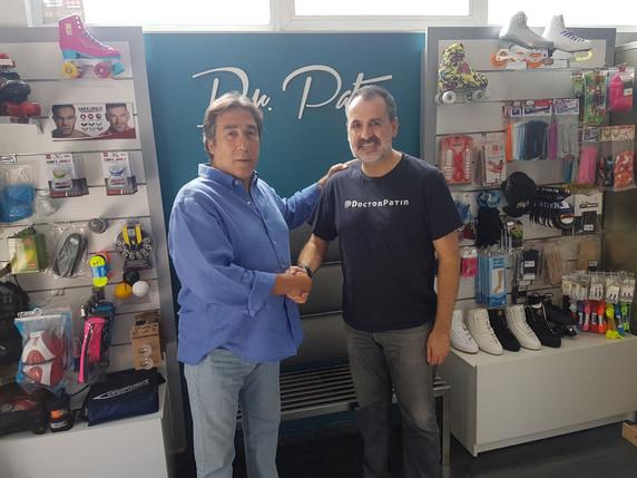 Dr Patín y el Club Rivas Las Lagunas firman un acuerdo de colaboración