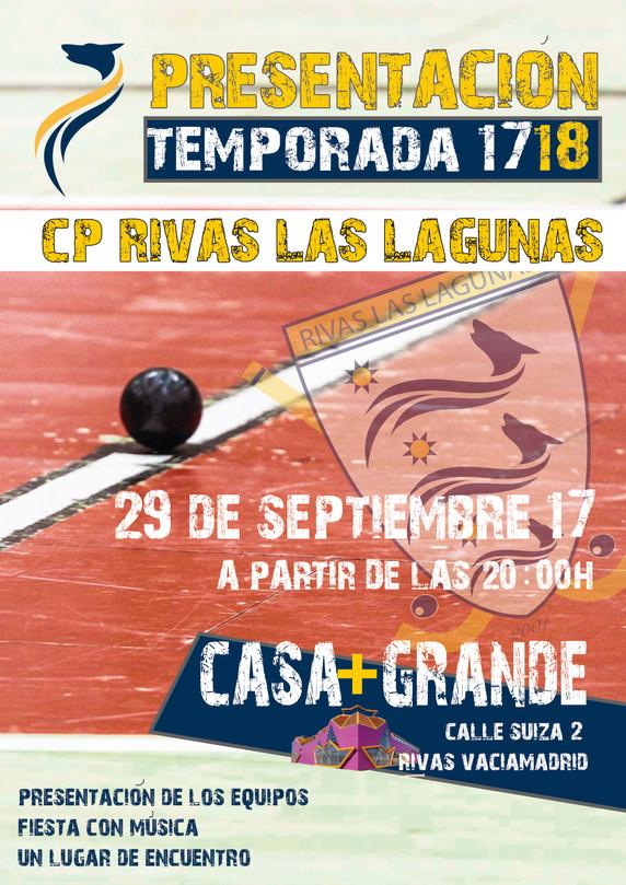 FIESTA PRESENTACIÓN TEMPORADA 17/19, VIERNES 29 DE SEPTIEMBRE EN LA CASA + GRANDE