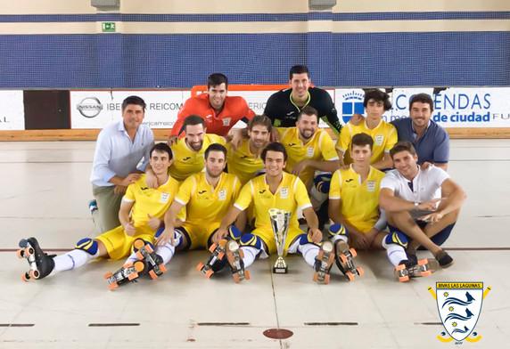 Rivas se proclama campeón del Torneo de Alcobendas.