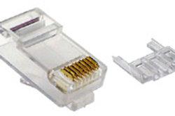 Cat6 2 Piece Modular Plug RJ45 - 8P