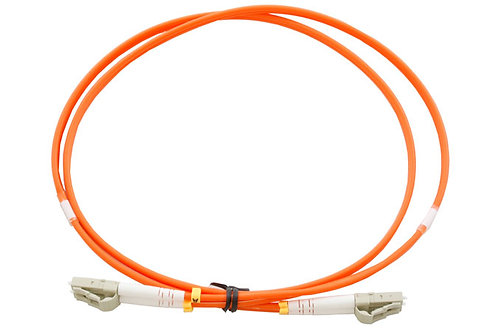 10Mtr LC to LC OM1 DX Multimode Fibre Patch Lead