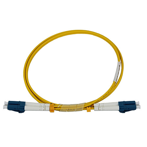 1Mtr LC-LC OS2 DX Single Mode Fibre Patch Lead