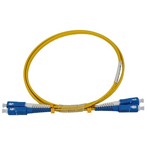 3Mtr SC-SC OS2 DX Single Mode Fibre Patch Lead