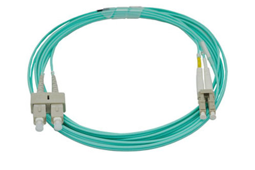 1Mtr LC-SC OM3 DX Multimode Fibre Patch Lead