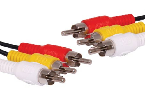 5Mtr 3xRCA Male To 3xRCA Male Composite Cable