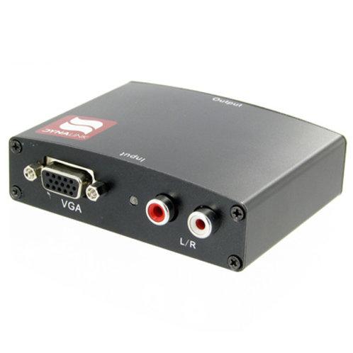 VGA & Stereo Audio to HDMI Converter