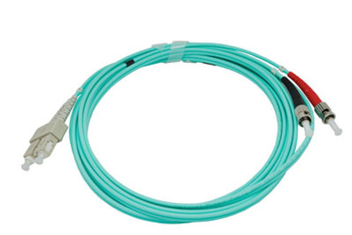 10Mtr SC-ST OM3 DX Multimode Fibre Patch Lead