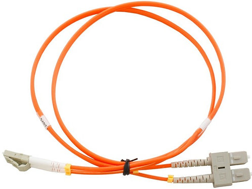 10Mtr LC to SC OM1 DX Multimode Fibre Patch Lead
