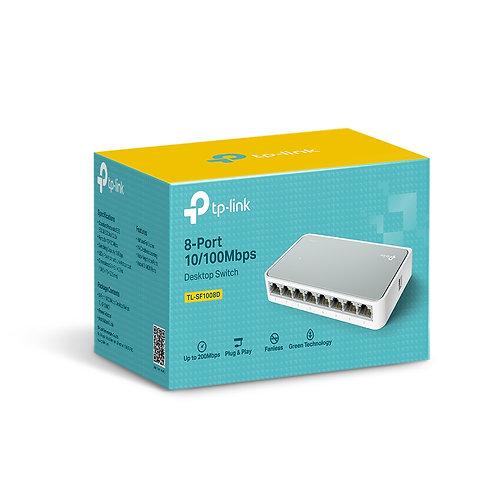 TP Link 8 Port 10/100 Desktop Switch