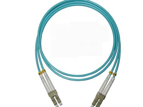 3Mtr LC-LC OM3 DX Multimode Fibre Patch Lead