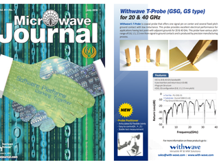 T-probe for 20 & 40 GHz on Microwave Journal (July, issue)