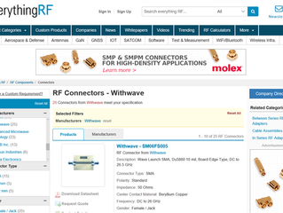 Wave Launch & Board Edge Connector in everything RF