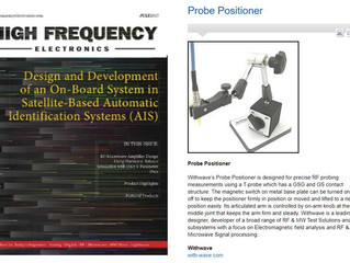Probe Positioner on High Frequency Electronics (July. issue)
