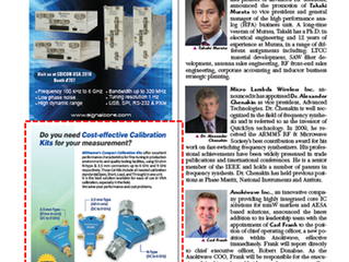withwave's calibration kits on microwave journal (Sep. issue)