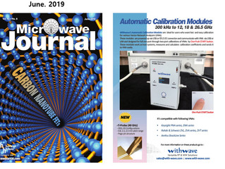 Automatic Calibration Modules on Microwave Journal (June, issue, 2019)