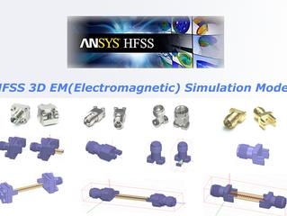 HFSS 3D EM(Electromagnetic) Simulation Model
