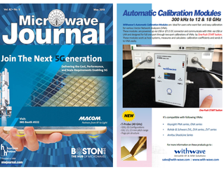 Automatic Calibration Modules on Microwave Journal (May, issue, 2019)