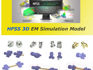 HFSS 3D EM(Electromagnetic) Simulation Model (Updated)