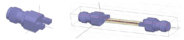 HFSS 3D Simulation Model_withwave