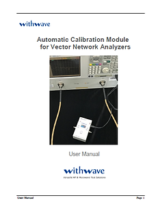 Automatic Calibration Module