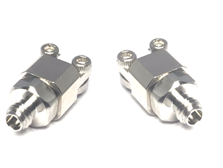 New End Launch 1.0 mm Connector (Narrow Block) : DC to 110 GHz