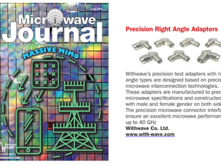 Precision Right Angle Adapters on Microwave Journal -New Product (June.issue, 2020)