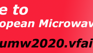 Withwave attend at Virtual European Microwave Weeks