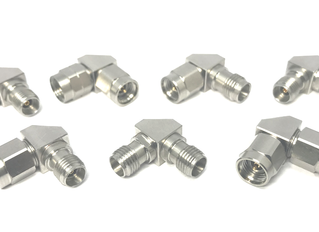 New Right Angle Adapters :                    1.85 mm to 2.92 mm/ 2.92 mm to 2.92 mm types