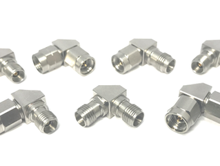 New Right Angle Adapters for  2.92 mm and 2.4 mm types