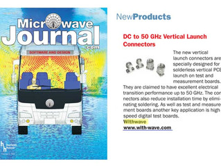 Vertical Launch 2.4 mm Connector on Microwave Journal (July. issue)