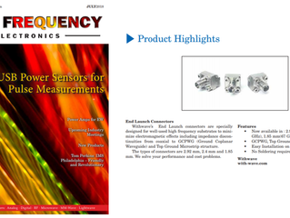 End Launch Connectors on High Frequency Electronics (July, issue)