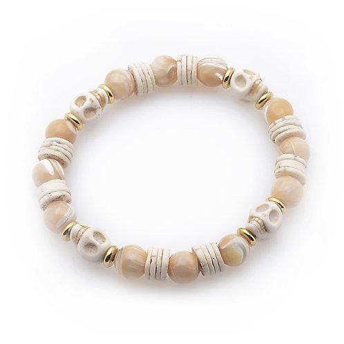 Skulls and Shells Bracelet