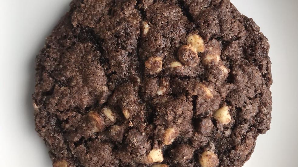 Triple Choc Chunk Cookies