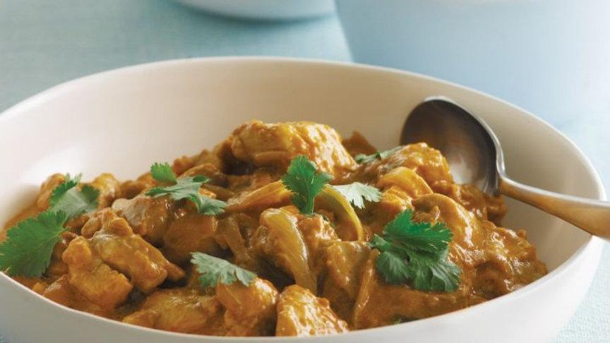Satay chicken curry
