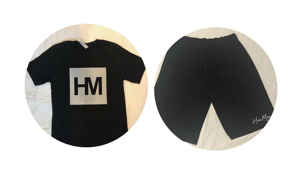 Hue.Man. Shirt/Shorts Combination