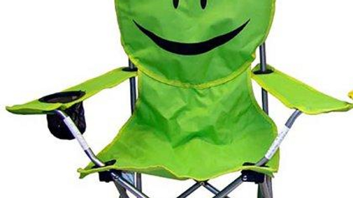 """FROG FACE"" FOLDING CHAIR"
