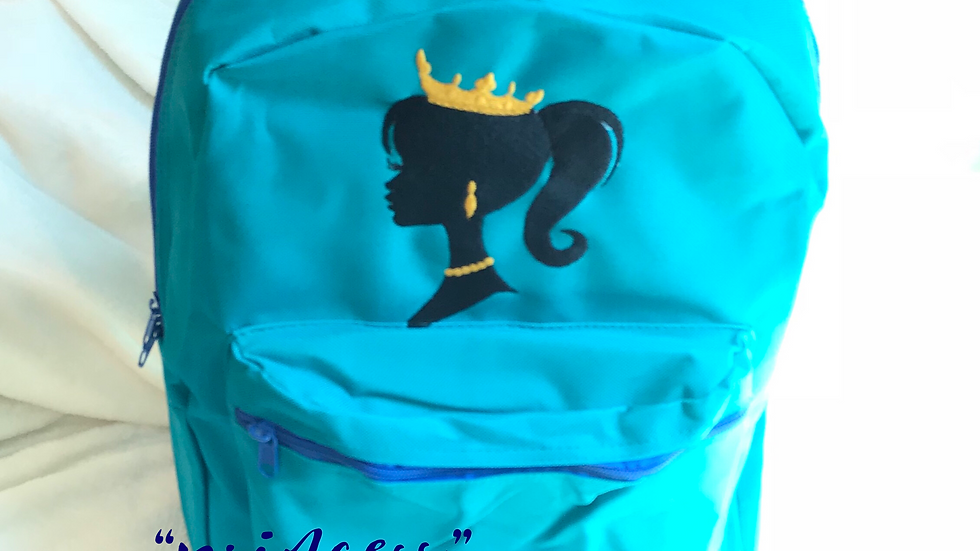 """""""PRINCESS"""" EMBROIDERED BACKPACK"""