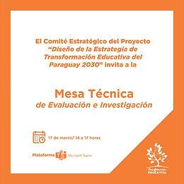 Mesa Técnica de Evaluación e Investigación