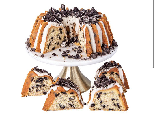 CAROLINA POUND CAKE COMPANY  Cookies & Cream Pound Cake