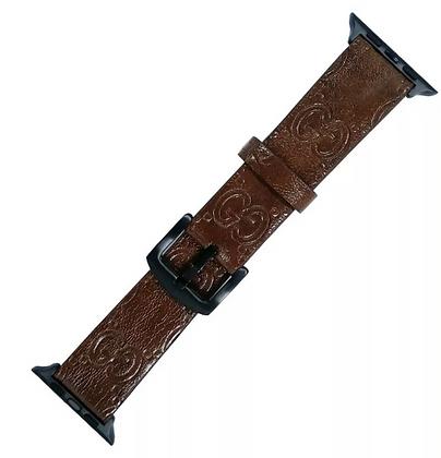 Band Luxury Brand Design iWatch Leather Sport Strap Fr Apple Watch 38/40/42/44mm