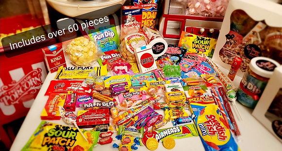 """""""Ohh, I Remember..."""" Box 60 Pieces of Freshly Wrapped Goodies"""